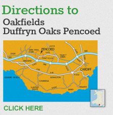Click here for directions to Oakfields Duffryn Oaks Pencoed